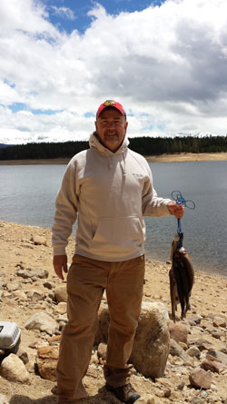Turquoise Lake Fishing - Leadville, Colorado